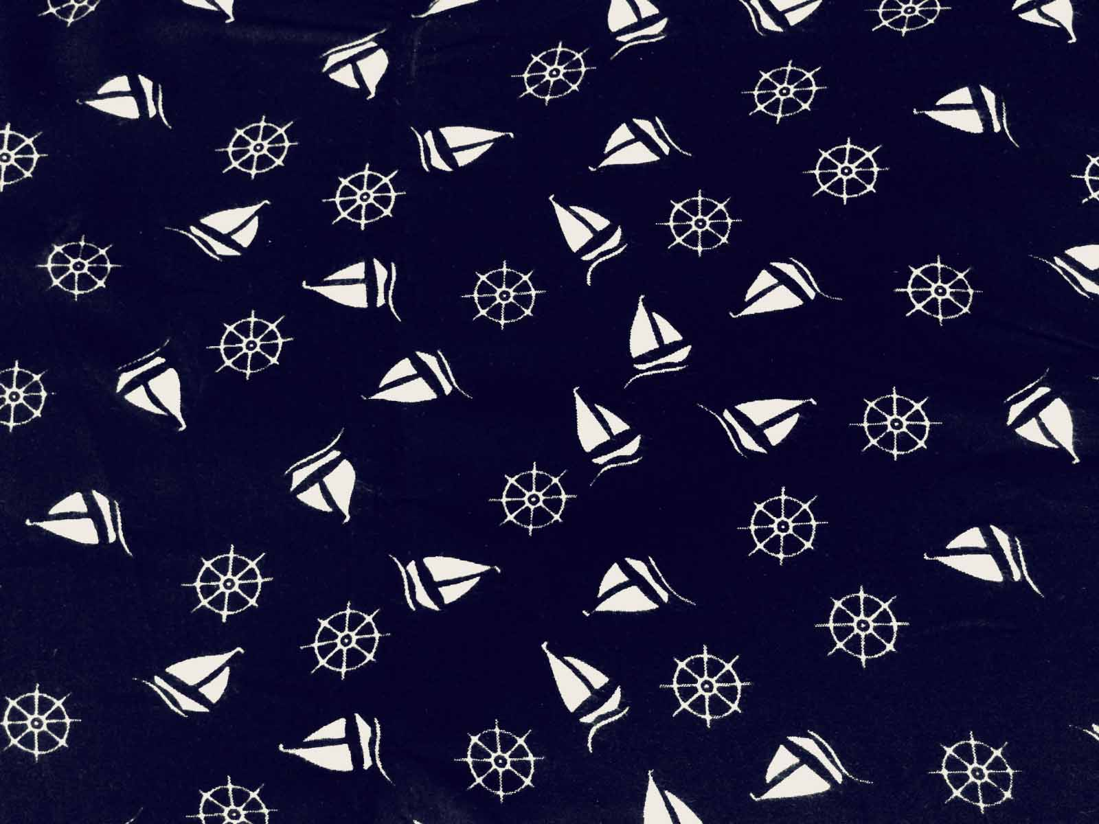 Geometric Printed Rayon Fabric