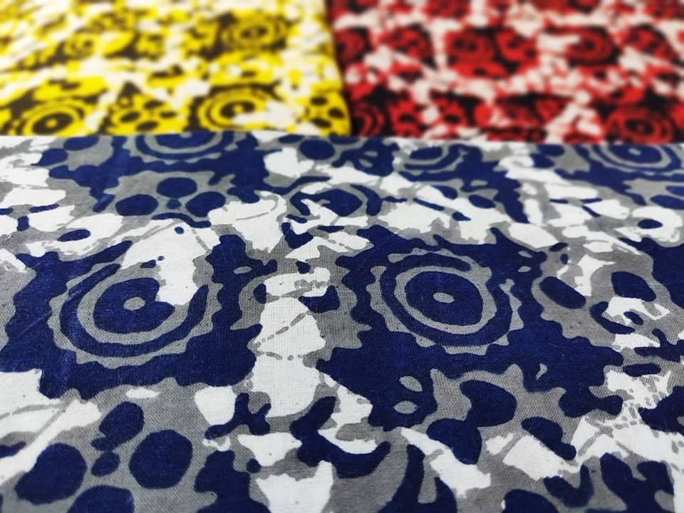 Geometric Printed Cotton Fabric